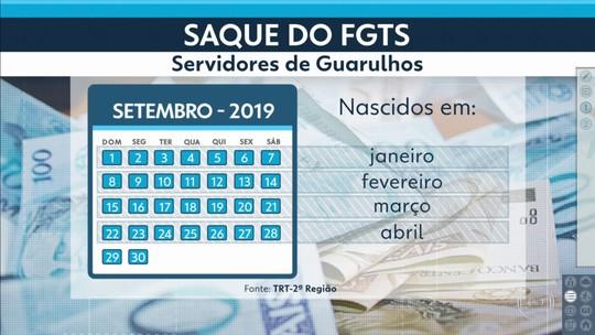 Justiça do Trabalho libera saque do FGTS para servidores municipais de Guarulhos