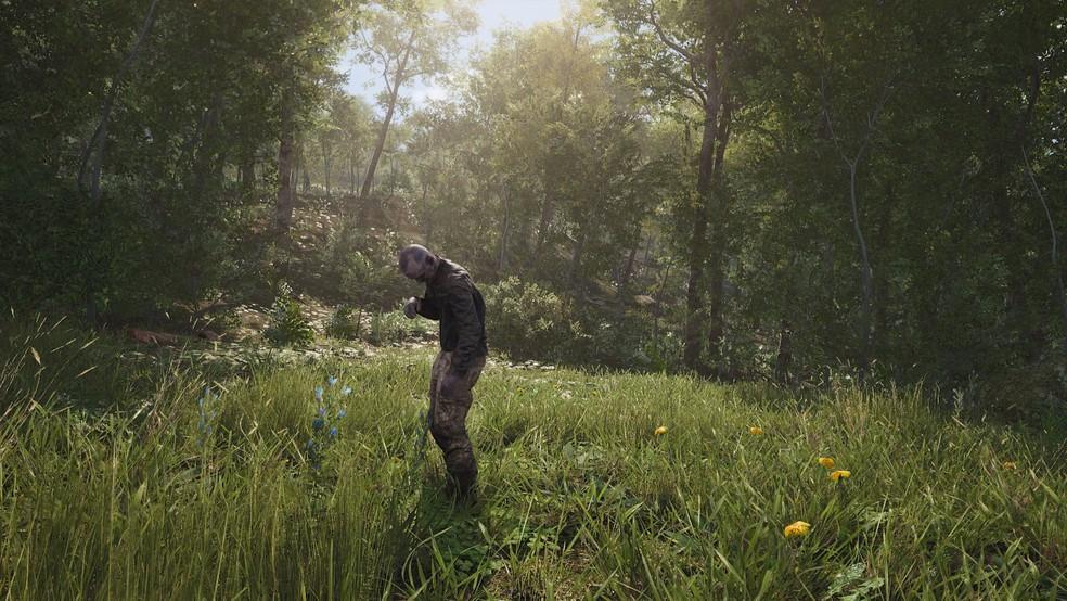 Se um jogador morre em SCUM, ele pode voltar com algumas habilidades antigas (Foto: Divulgação/Devolver Digital)