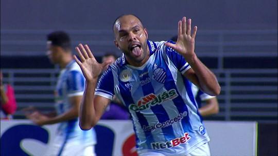 Gols de CSA 2 x 2 Atlético-MG pela 26ª rodada do Campeonato Brasileiro Série A