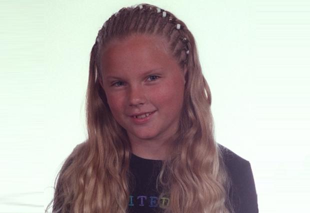 A cantora Taylor Swift já era fofinha com apenas 10 anos de idade (Foto: Reprodução)