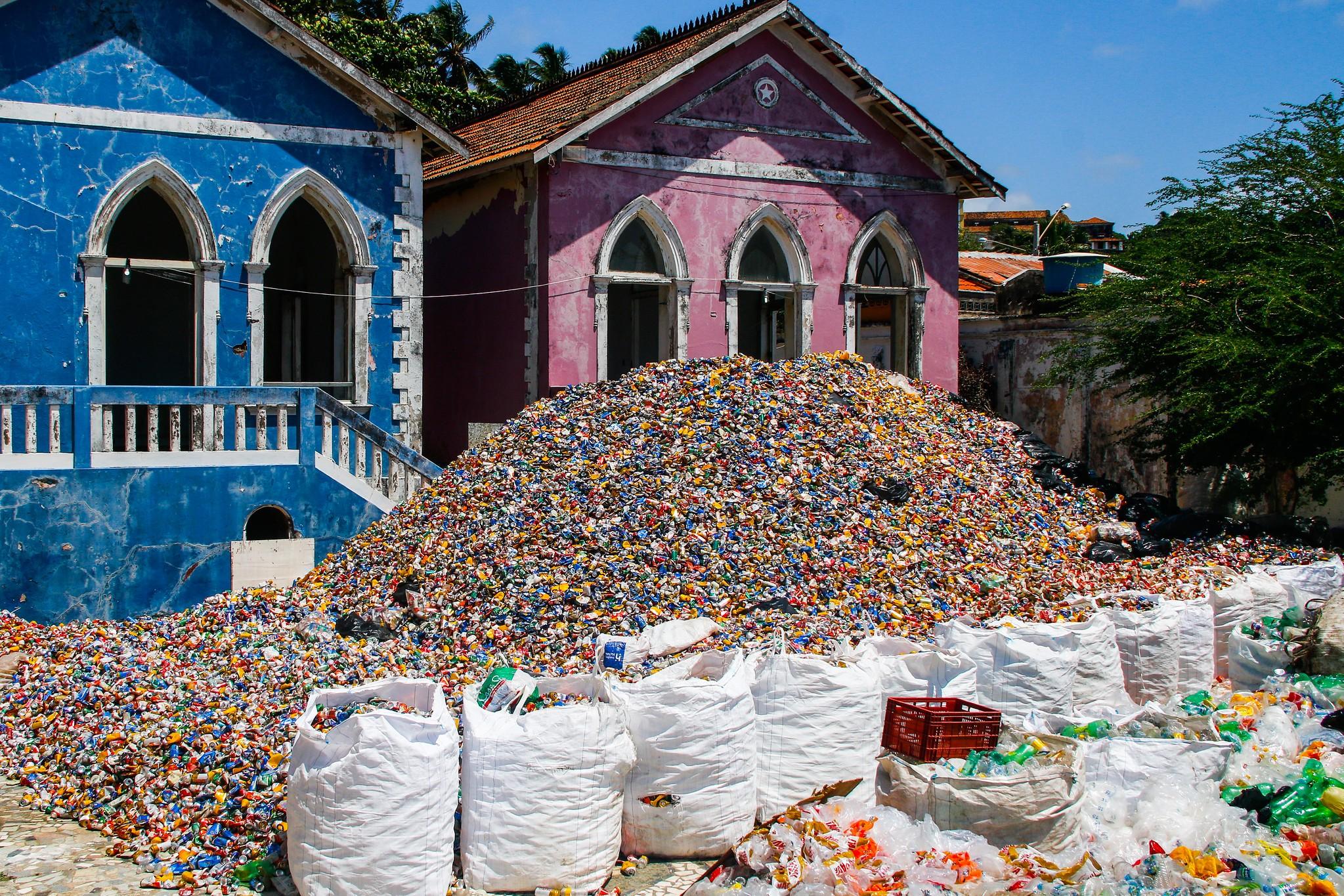 Mais de 150 toneladas de material reciclável são recolhidas no carnaval do Recife e de Olinda