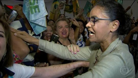 PT quer esconder governo da ex-presidente Dilma Rousseff, diz Marina Silva em Vitória