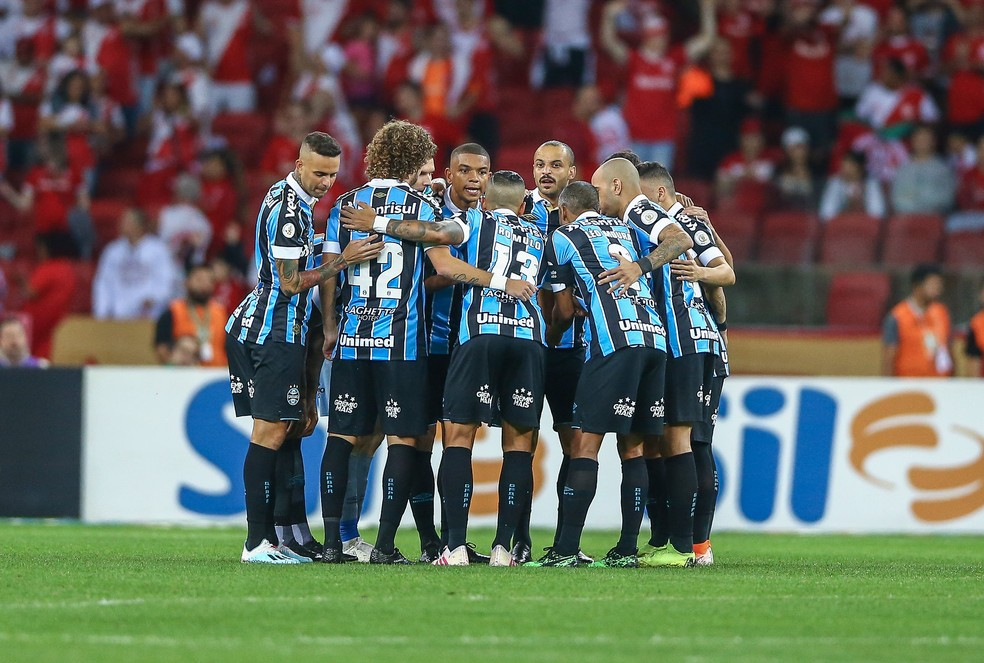 Grêmio terá Gre-Nal no fim de semana que pode ser de briga pelo G-6 — Foto: Lucas Uebel / Grêmio, DVG
