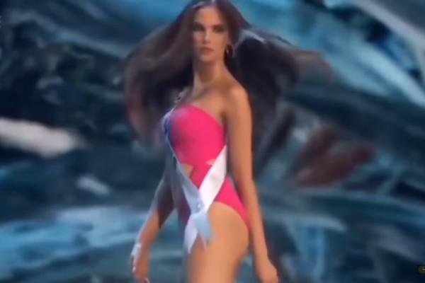 A modelo filipina vencedora do Miss Universo, Catriona Gray (Foto: Reprodução)