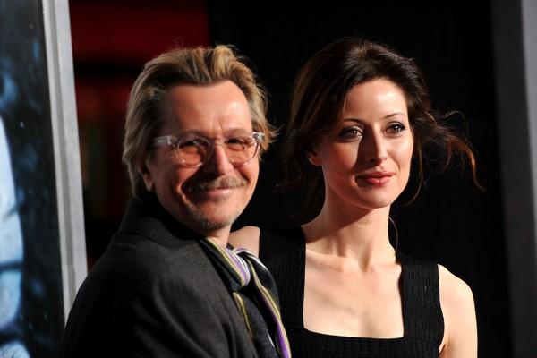 O ator Gary Oldman com a ex-esposa e mãe de seus filhos, Donya Fiorentino (Foto: Getty Images)