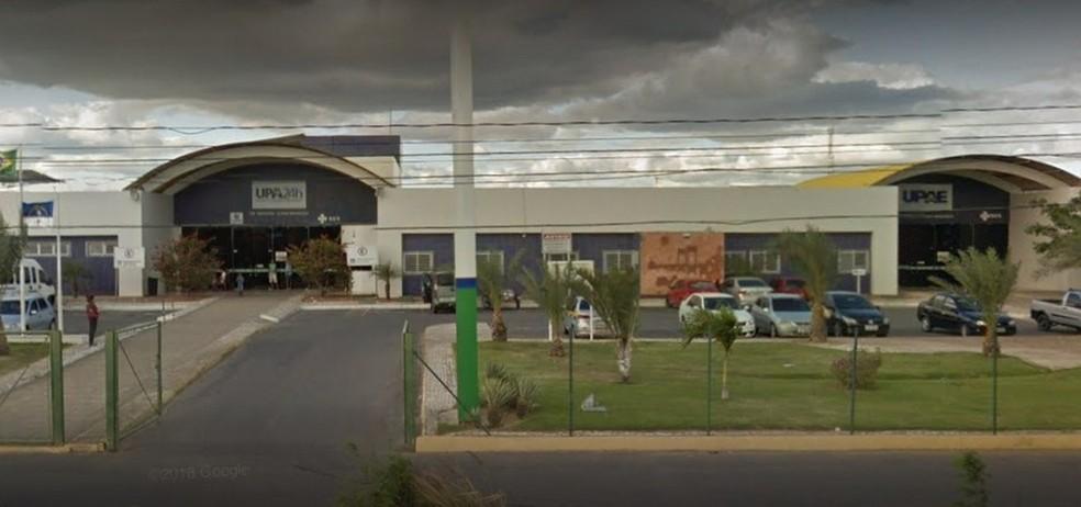 Secretaria de Saúde de Pernambuco ressaltou que a UPAE Petrolina conta com leitos de UTI  — Foto: Google