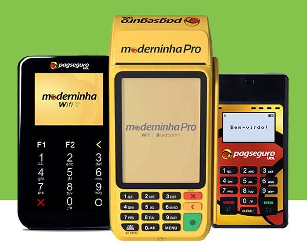 Máquinas da PagSeguro (Foto: Divulgação)