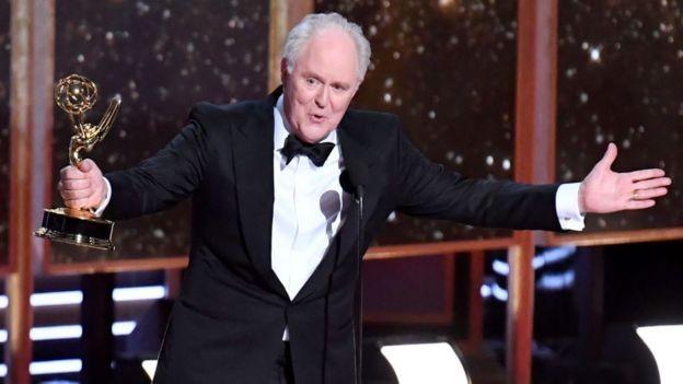 John Lithgow recebeu um Emmy no ano passado por seu papel como Winston Churchill em 'The Crown' (Foto: Getty Images via BBC News Brasil)