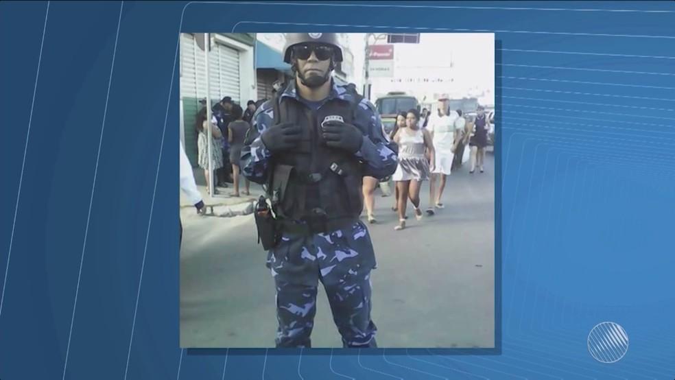 Jailson também atuava como guarda municipal (Foto: Reprodução/TV São Francisco)