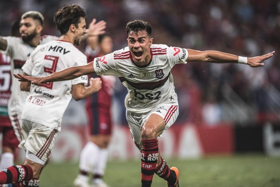 Reinier não foi liberado para o Mundial sub-17 e acabou sendo decisivo contra Atlético-MG e Fortaleza — Foto: Pedro Martins / Azeite Royal