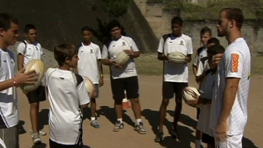 De olho nas Olimpíadas de 2016, Vasco abre escolinha de rugby