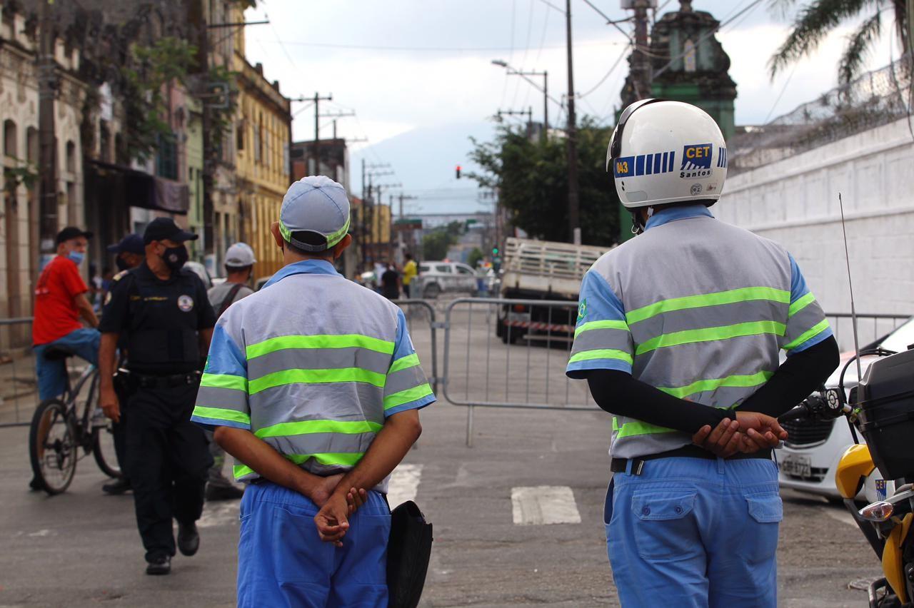Santos prepara esquema de segurança e isolamento para sepultamento de Bruno Covas; FOTOS