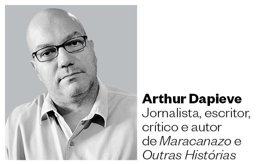 Arthur Dapieve jornalista, escritor, crítico e autor de Maracanazo e Outras Histórias (Foto: Época)