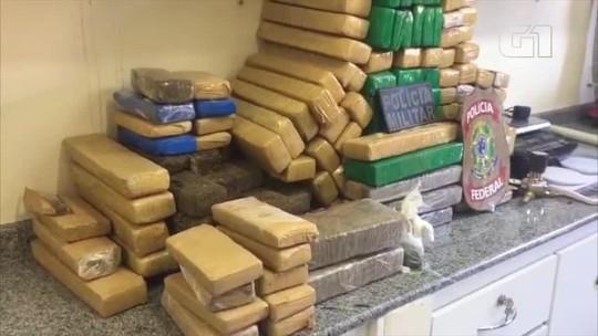 Suspeito de tráfico de drogas é preso com mais de 100 kg de maconha no Norte do Piauí