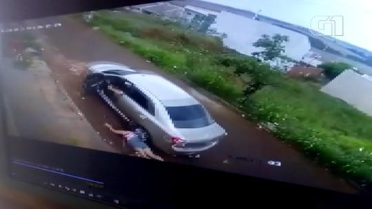 Homem é preso após arrastar e atropelar a ex-mulher em Sarandi