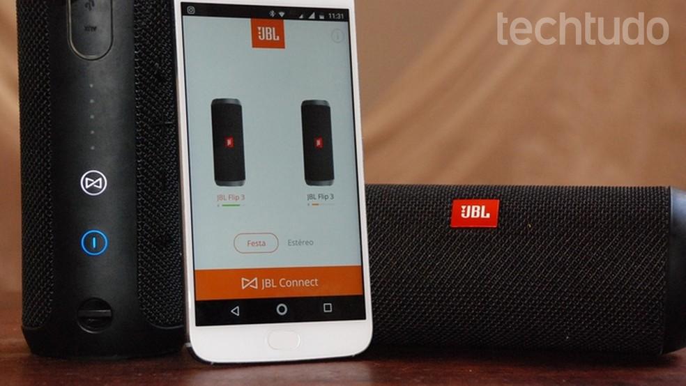 Como usar o app JBL Connect com sua caixa de som Bluetooth