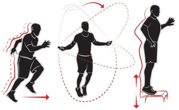 Double Under substitui série de três exercícios para as pernas (Foto: GQ Brasil)