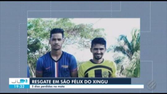Jovens que desapareceram em mata fechada são resgatados no sudoeste do Pará