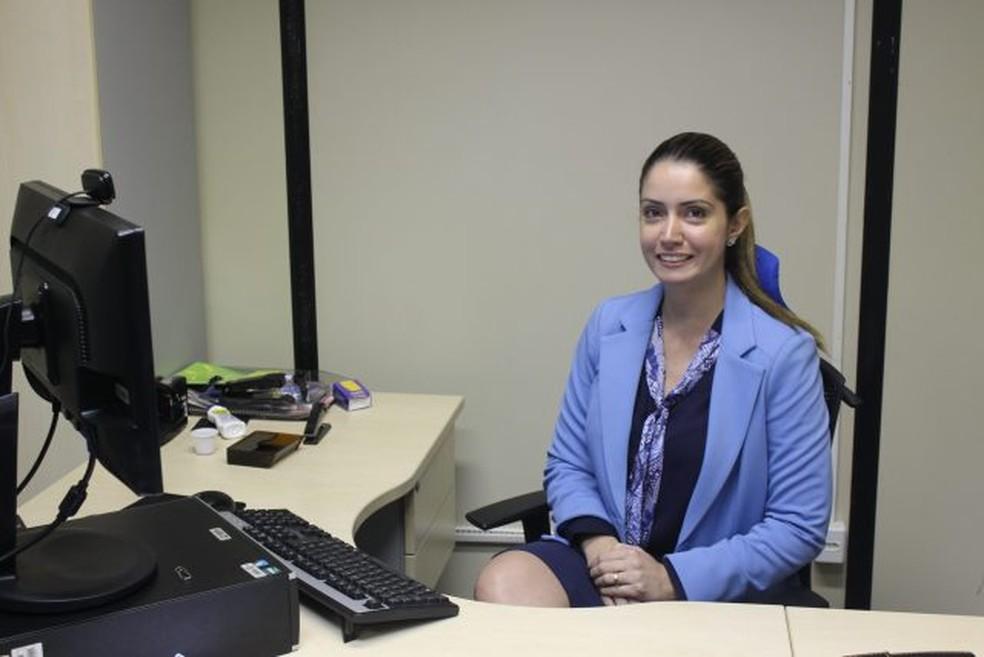 A delegada Priscila Morgado, da Polícia Civil do Pará — Foto: Ascom/PC