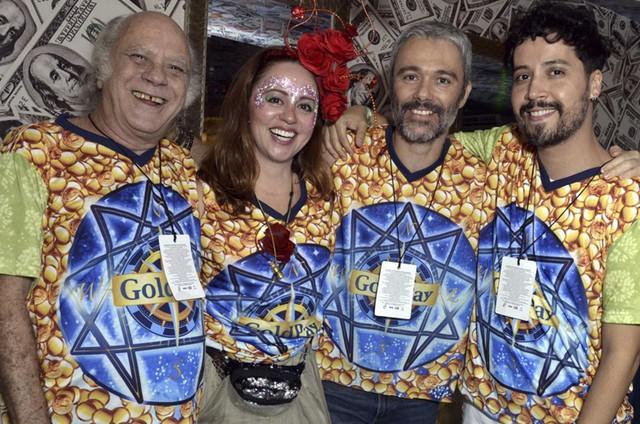 Tonico Pereira, Guta Stresser, Angelo Paes Leme e Arlindo Lopes (Foto: Cristina Granato)