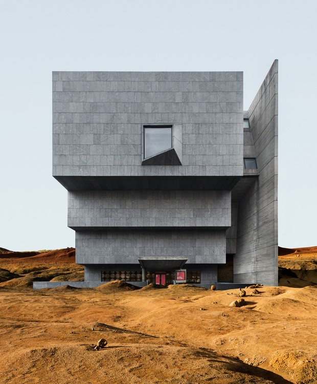 Inaugurado em 1966, o Breurer Building foi feito por Marcel Breuer  (Foto: Anton Repponen)