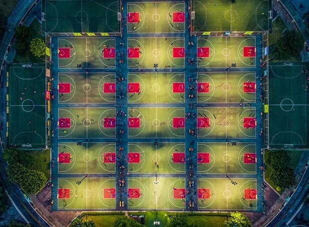 Concurso internacional de fotografia com drone (Foto: Shihui Liu/Reprodução)