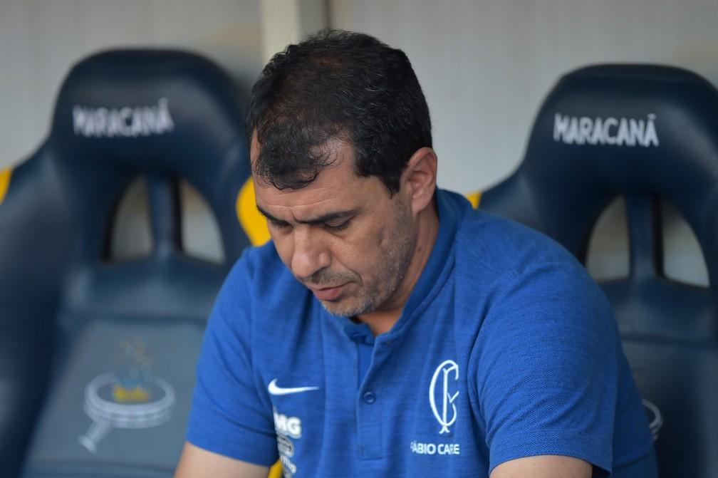 Fábio Carille deixa Corinthians após goleada sofrida para o Flamengo — Foto: Thiago Ribeiro/Estadão Conteúdo