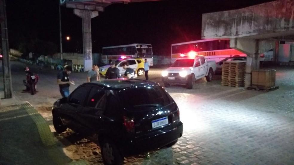 Homem foi detido pela Polícia Rodoviária Estadual  — Foto: PM/Divulgação