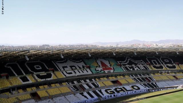 Mosaico no Mineirão para Atlético-MG x Boca