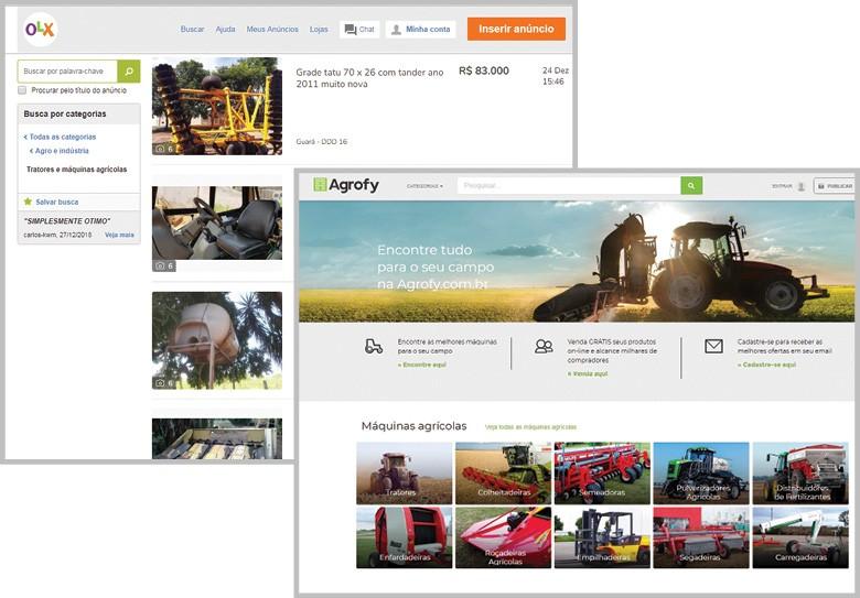 Plataformas oferecem produtos variados, novos e usados (Foto: Divulgação)