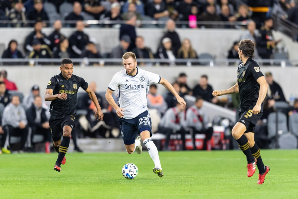 MLS está paralisada desde o dia 8 de março, quando o Philadelphia Union enfrentou o Los Angeles FC — Foto: Getty Images