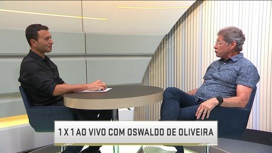 Oswaldo de Oliveira é o entrevista do quadro 1 x 1 do Seleção SporTV