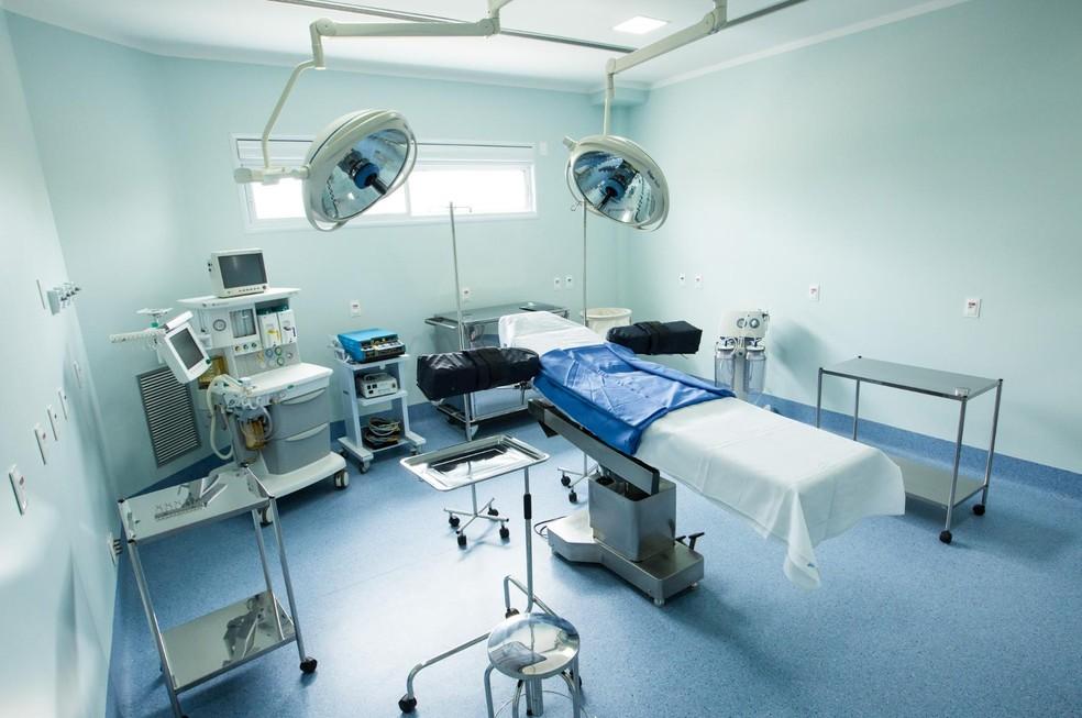 Sala de cirurgia do Valore Day Hospital — Foto: Valore Day Hospital/Divulgação