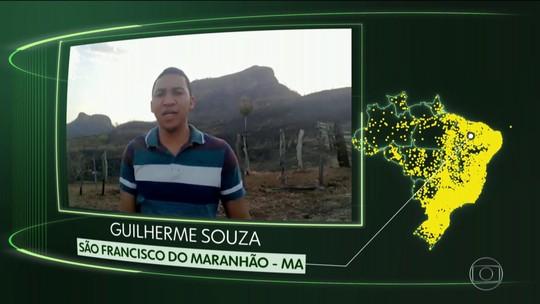 S F do Maranhão, L Salzano, Cajapió, J Olinda, Cardoso, C do Goiás, Arês e Boracéia
