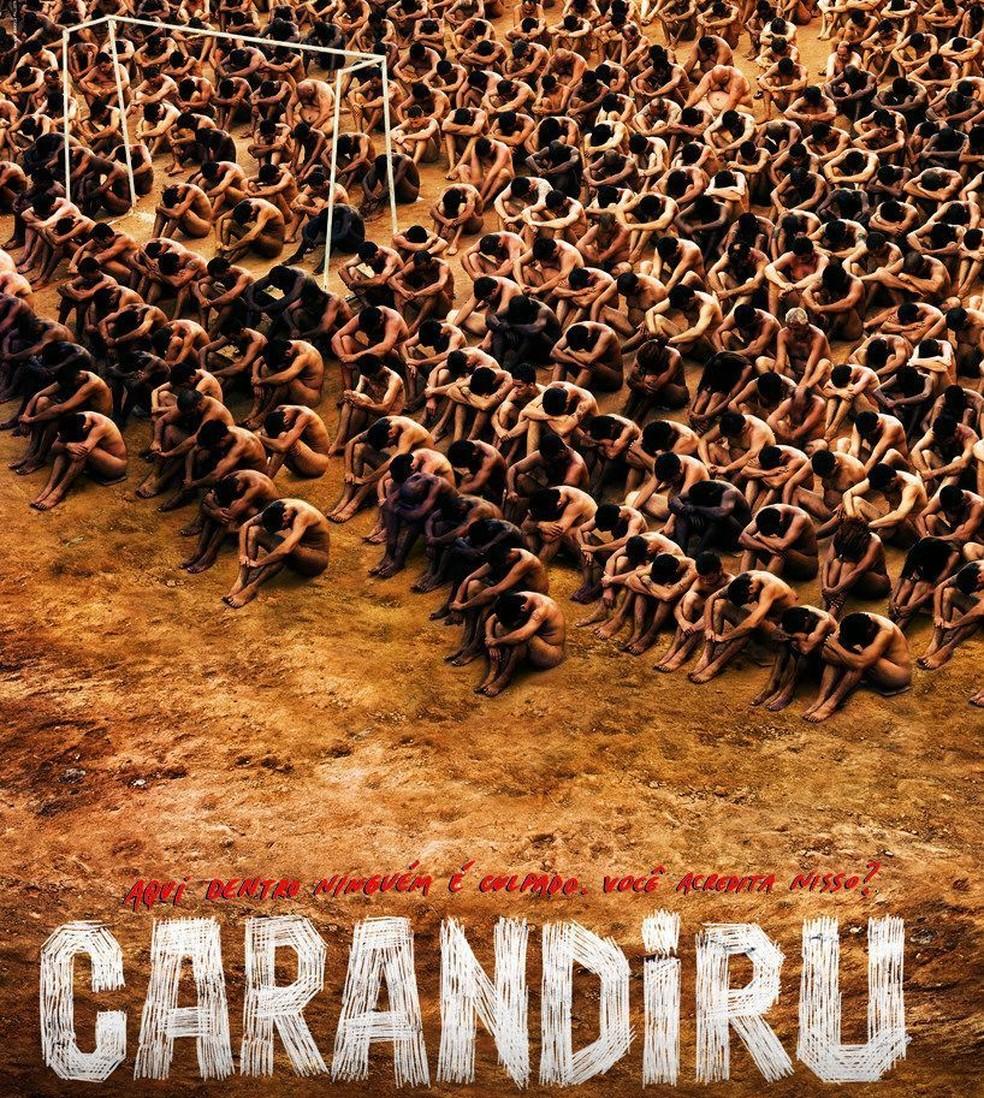 Carandiru, história baseada em fatos reais  — Foto: Divulgação