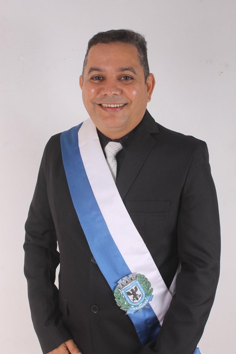 Jonas Rodrigues da Silva (Jonas Canarinho) — Foto: Assessoria