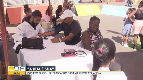 """""""A Rua é Sua"""" passou pelo Recanto das Emas e por Ceilândia neste fim de semana"""