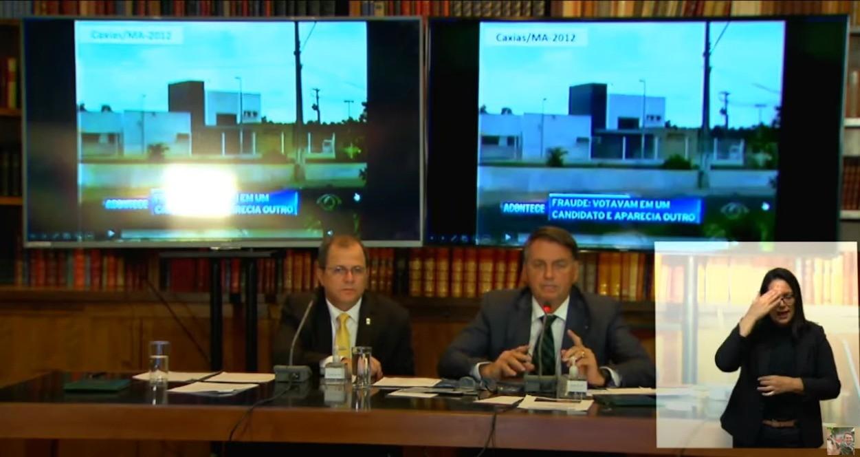 Presidente Jair Bolsonaro acusou fraude nas urnas eletrônicas sem provas