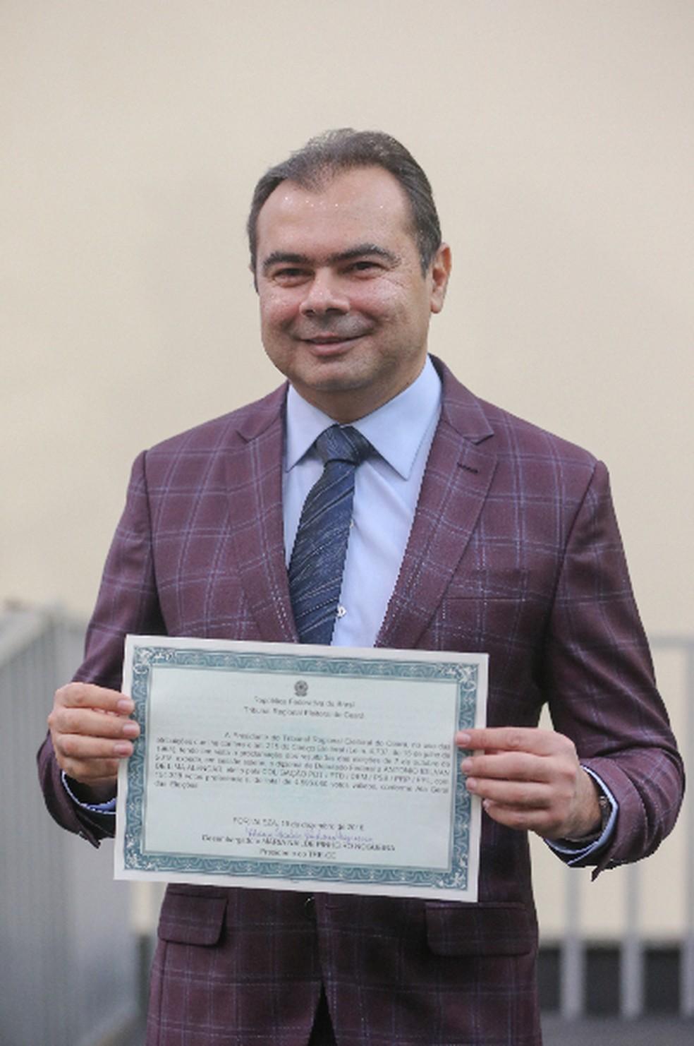 Deputado Idilvan (PDT) — Foto: Saulo Roberto/SVM