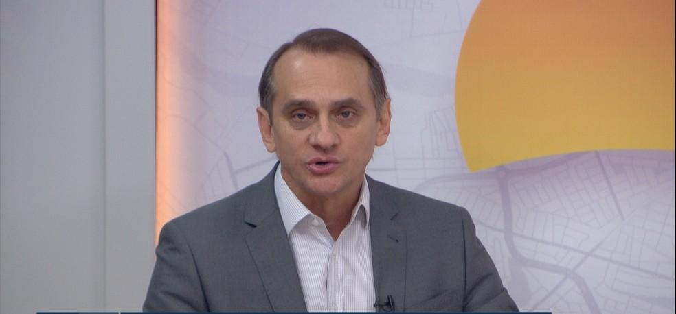 Deputado estadual Wilson Santos (PSDB) — Foto: TV Centro América