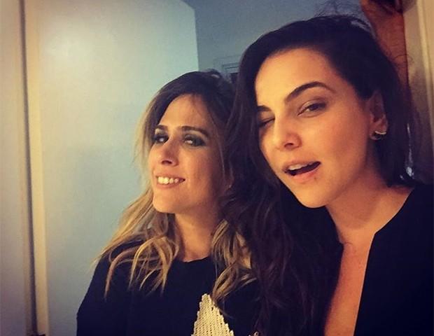 Tainá Müller e Tatá Werneck (Foto: Instagram/ Tainá Müller)