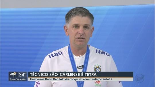 VÍDEO: Guilherme Dalla Déa fala sobre conquista com a seleção