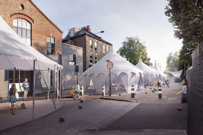 Arquitetos projetam sala de aula com design inovador para o pós-pandemia (Foto: Darc Studio)