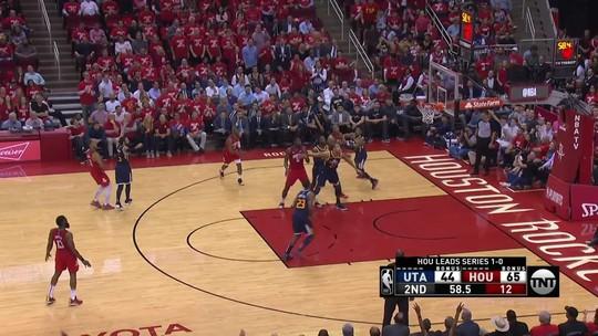 Melhores momentos: Utah Jazz 98 x 118 Houston Rockets pela NBA