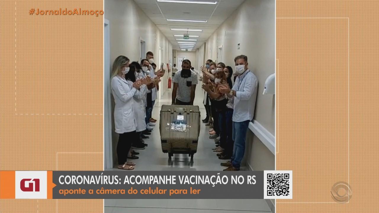 Voluntários da pesquisa da UFPel recebem primeira dose da vacina contra a Covid-19