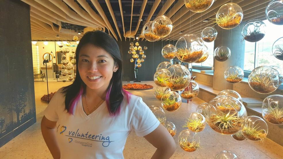 Camila Matsubara é engenheira de software no Google. — Foto: Reprodução/Google