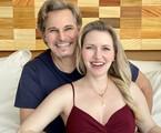 Edson Celulari e Karin Roepke | Arquivo pessoal