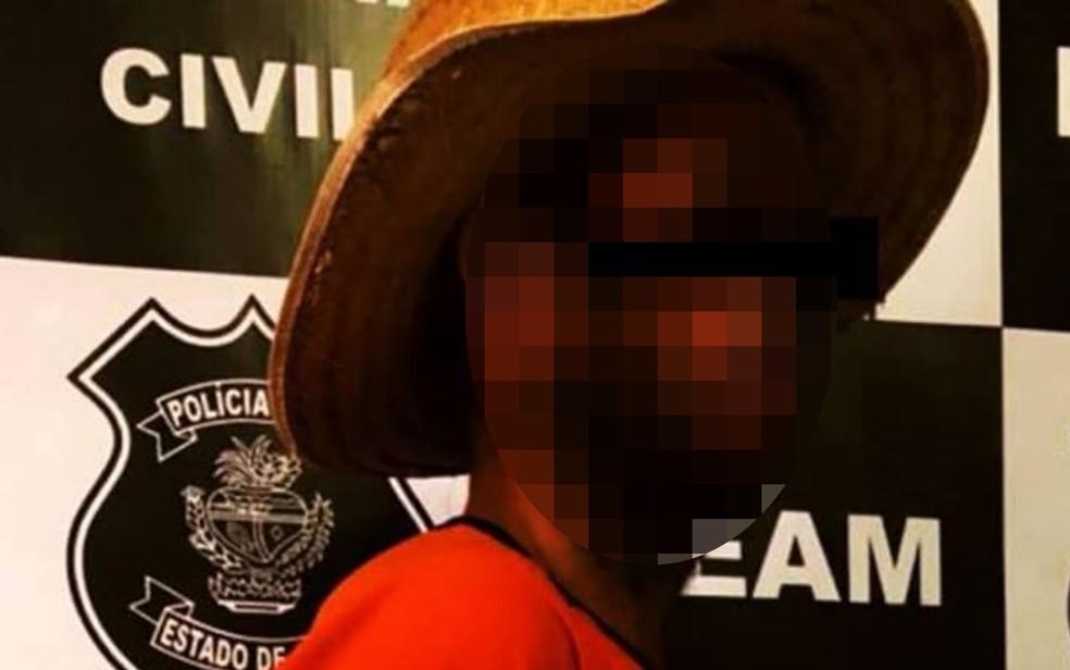 Homem de 36 ansos é preso suspeito de estupro de bebê em Formosa (Foto: Reprodução/Facebook)