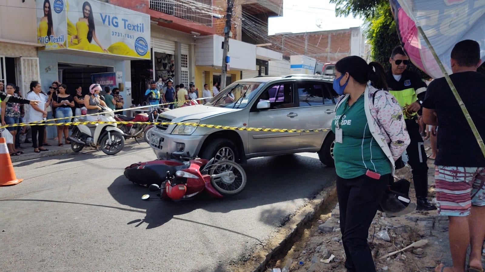 Idosa morre em acidente de moto em Santa Cruz do Capibaribe