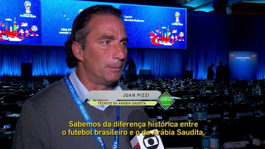 Técnico da Arábia Saudita encara jogo contra o Brasil como aprendizado